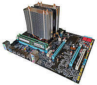 Комплект X79Z-2.4F + Xeon E5-2640 + 8 GB RAM + Кулер, LGA 2011