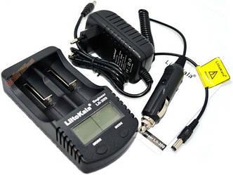 Профессиональное зарядное устройство Liitokala Lii-300 + автоадаптер