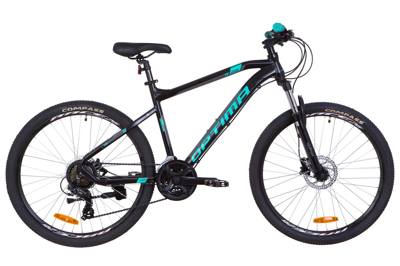 "Велосипед горный 26"" Optimabikes F-1 HDD 2019 (рама 16"", черный)"