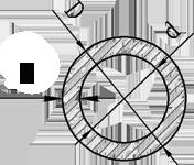 Труба круглая алюминий  56х2,5 анод