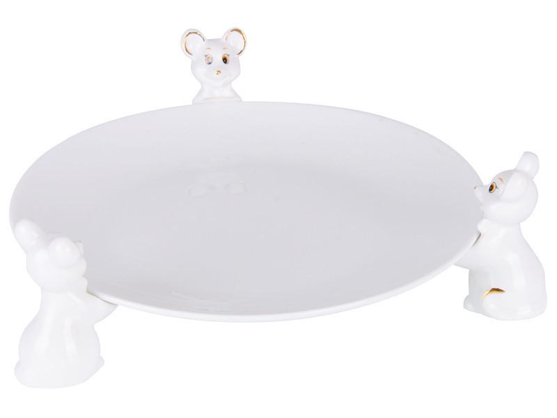 Блюдо Lefard Новогодняя коллекция  Мышки 23 см 149-419