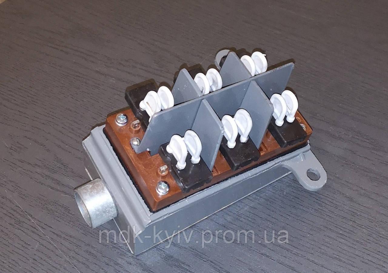 БММ 1-1 (6х2) - Бокс кабельный междугородный 6-парный