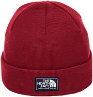 Мужская шапка The North Face (ориг.бирка) красная