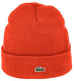 Мужская шапка Lacoste (ориг.бирка) зеленая, фото 2
