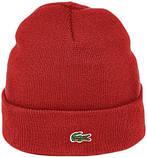 Мужская шапка Lacoste (ориг.бирка) зеленая, фото 7
