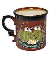 """Чашка """"Добра глина"""" Лягушки, 300мл"""
