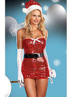 Костюм новогодний костюм снегурочки