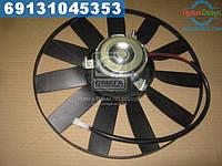 ⭐⭐⭐⭐⭐ Электровентилятор охлаждения радиатора ГАЗЕЛЬ (ЗМЗ 406) 12В (DECARO)  38.3780