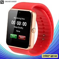 Умные часы Smart Watch GT08 Red - смарт часы под SIM-карту