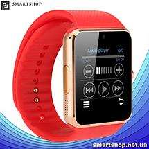 Умные часы Smart Watch GT08 Red - смарт часы под SIM-карту Красные, фото 2