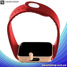 Умные часы Smart Watch GT08 Red - смарт часы под SIM-карту Красные, фото 3