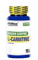 Жиросжигатель FitMax Green Coffee L-Carnitine, 60 капсул