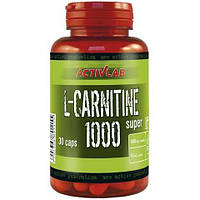 Жиросжигатель Activlab L-Carnitine 1000 Super, 30 капсул