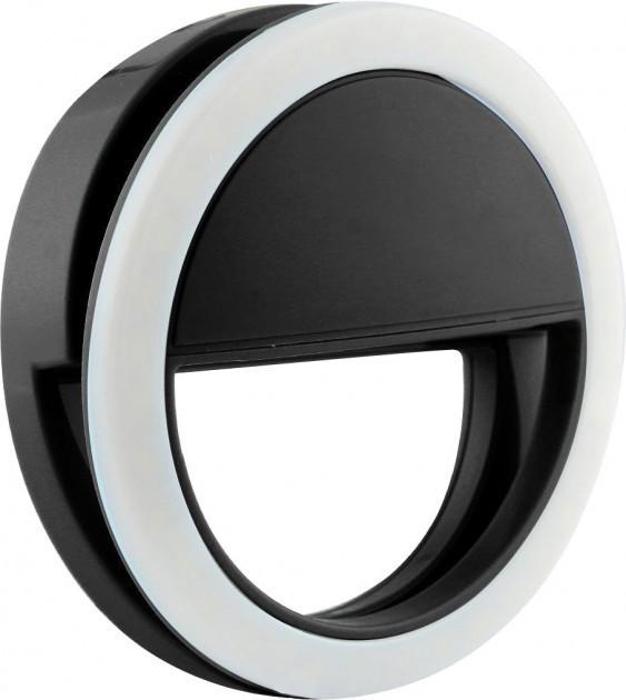 Спалах-підсвічування для телефону селфи-кільце SmartTech XJ-01 Чорний