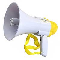 Громкоговоритель (рупор) Мегафон UKC HW-8C White/Yellow, фото 1