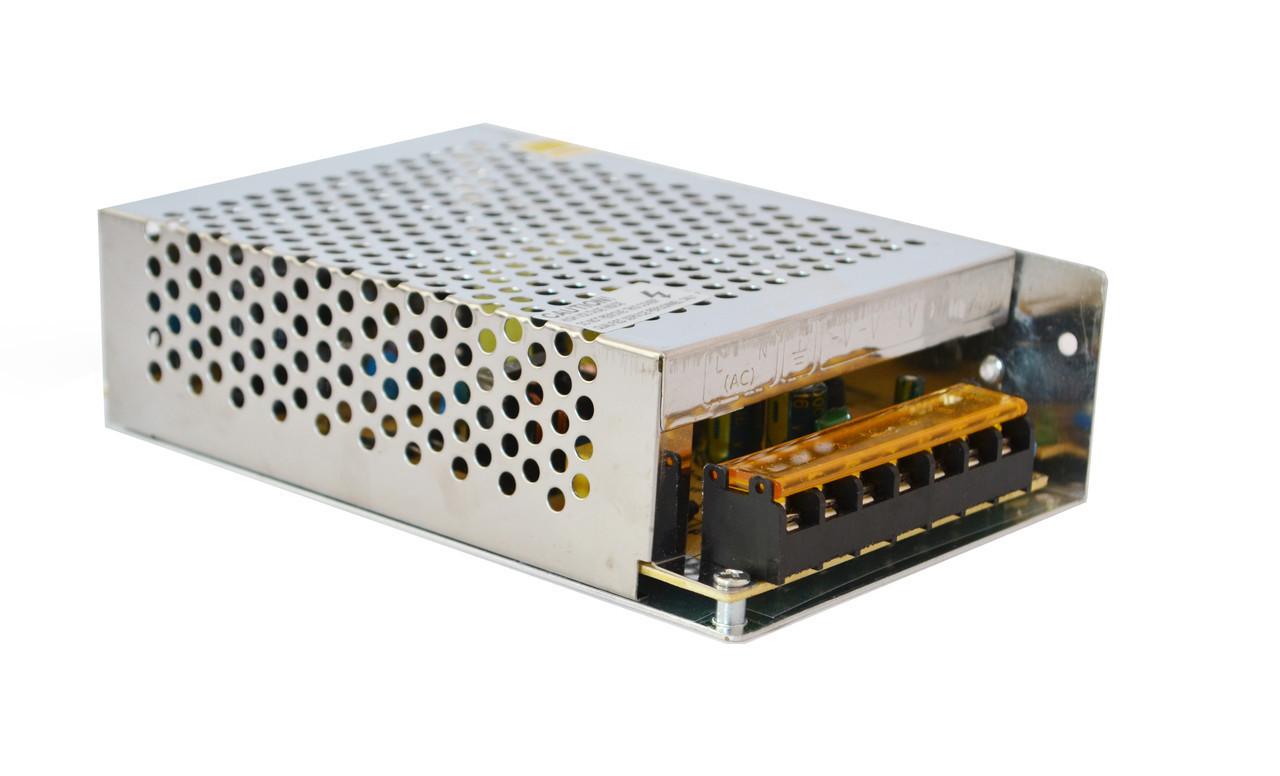 Блок питания UKC 100-240V DC 12V 10A металлический