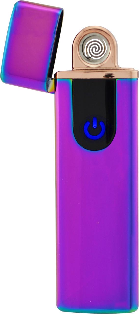 Спиральная сенсорная электрическая USB зажигалка UKC 752