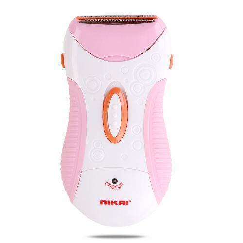 Эпилятор женская аккумуляторная электробритва Nikai NK-7699 Pink