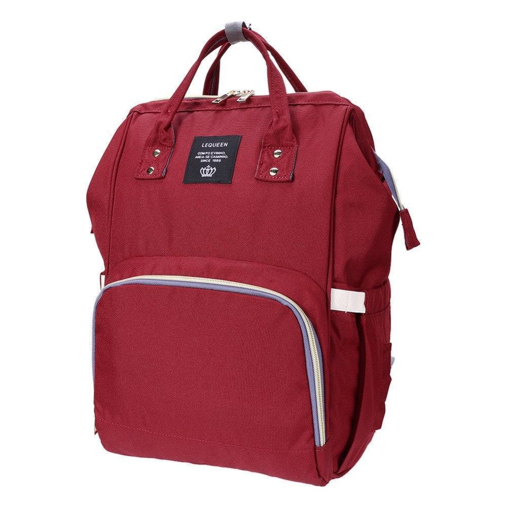 Рюкзак органайзер для мам LEQUEEN марсала
