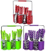 Набор столовых приборов Kamille Elegance Set 24 предмета и подставка, фото 1