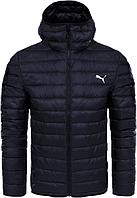 Мужская зимняя куртка Puma темно-синяя +7°C (-25°С)