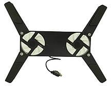 Подставка для ноутбука кулер ErgoStand 202 с подсветкой