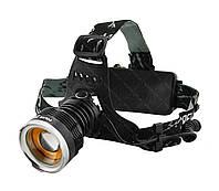 Налобный фонарик Police BL- T619 (2 зарядных, 2 аккумулятора), фото 1