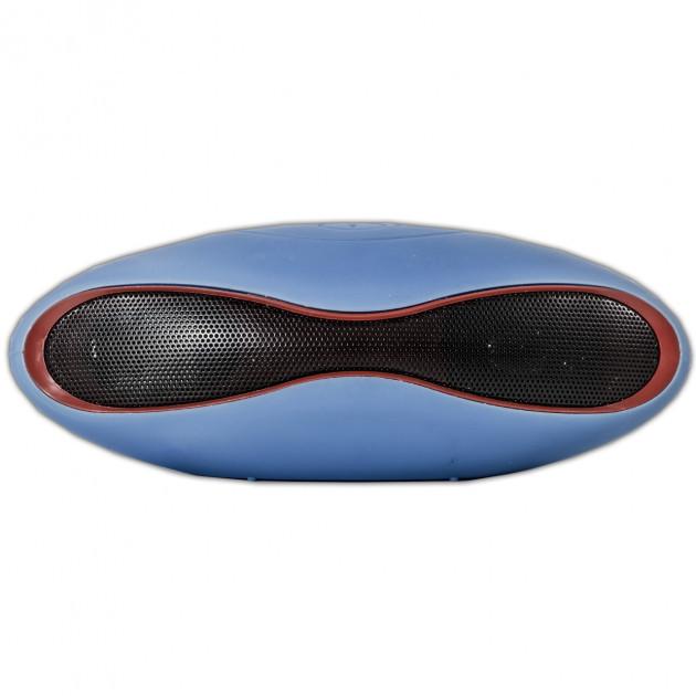 Портативная bluetooth MP3 колонка Dellta X6 Z-169 голубая