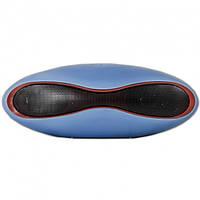 Портативная bluetooth MP3 колонка Dellta X6 Z-169 голубая, фото 1