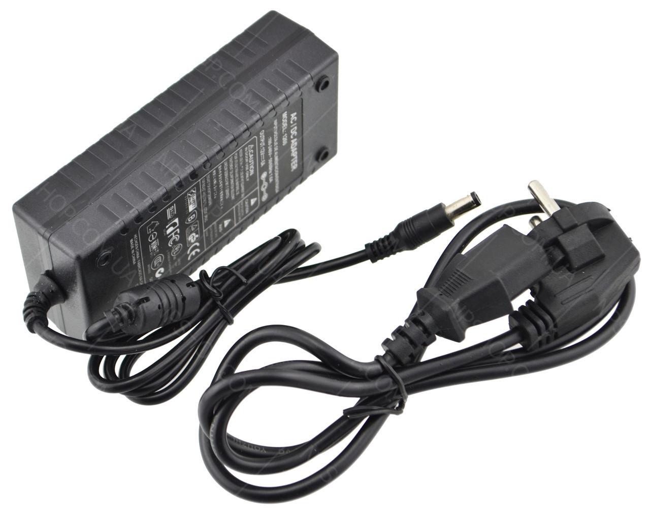 Блок питания UKC 12V 6A + кабель питания
