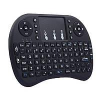 Беспроводная английская клавиатура Rii mini i8 WMY-1040 2.4G черный, фото 1