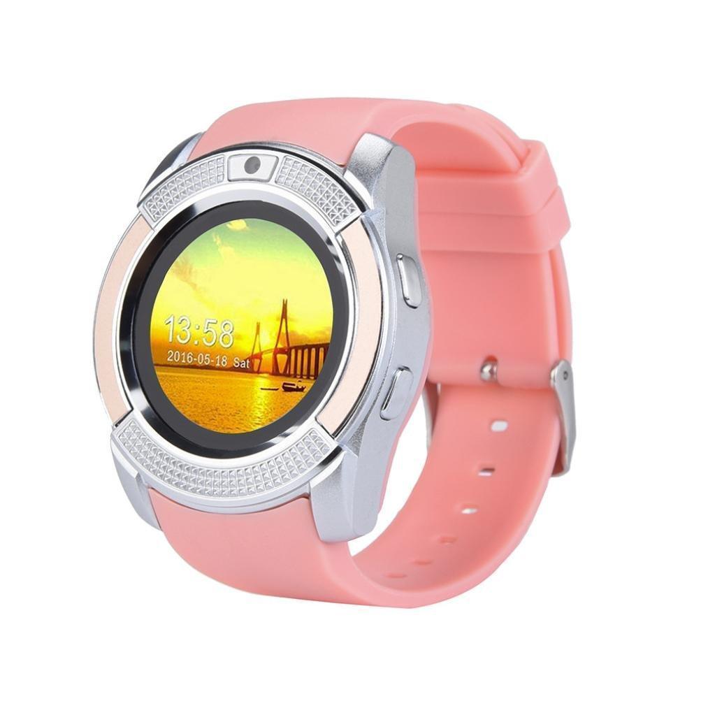 Смарт-часы UWatch V8 Pink