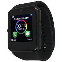 Умные часы телефон SmartWatch GT08 Black, фото 1