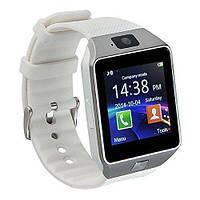 Смарт-часы SmartWatch DZ09 White, фото 1
