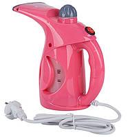 Вертикальный отпариватель ручной Аврора A7 утюг розовый, фото 1