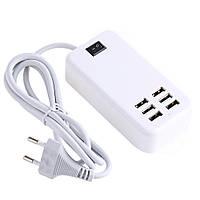 Зарядное устройство UKC USB Desktop Charger на 6 USB