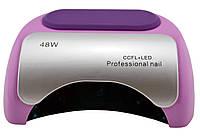 Гибридная УФ CCFL+LED лампа для ногтей Beauty Nail 48W K18 сиреневый