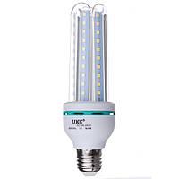 Лампа светодиодная лампочка LED 24W E27 U подобная