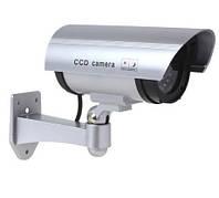 Камера видеонаблюдения обманка муляж A-26 (1100) + наклейка, фото 1