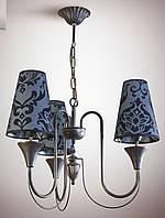 Люстра для небольшой комнаты, спальни, прихожей, 3-х ламповая