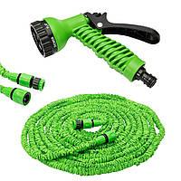 Шланг для полива X HOSE 60 м с распылителем (быстросъемное крепление) Green, фото 1