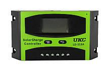 Солнечный контроллер Solar controler 10A LD-510A UKC, контроллер для солнечной батареи