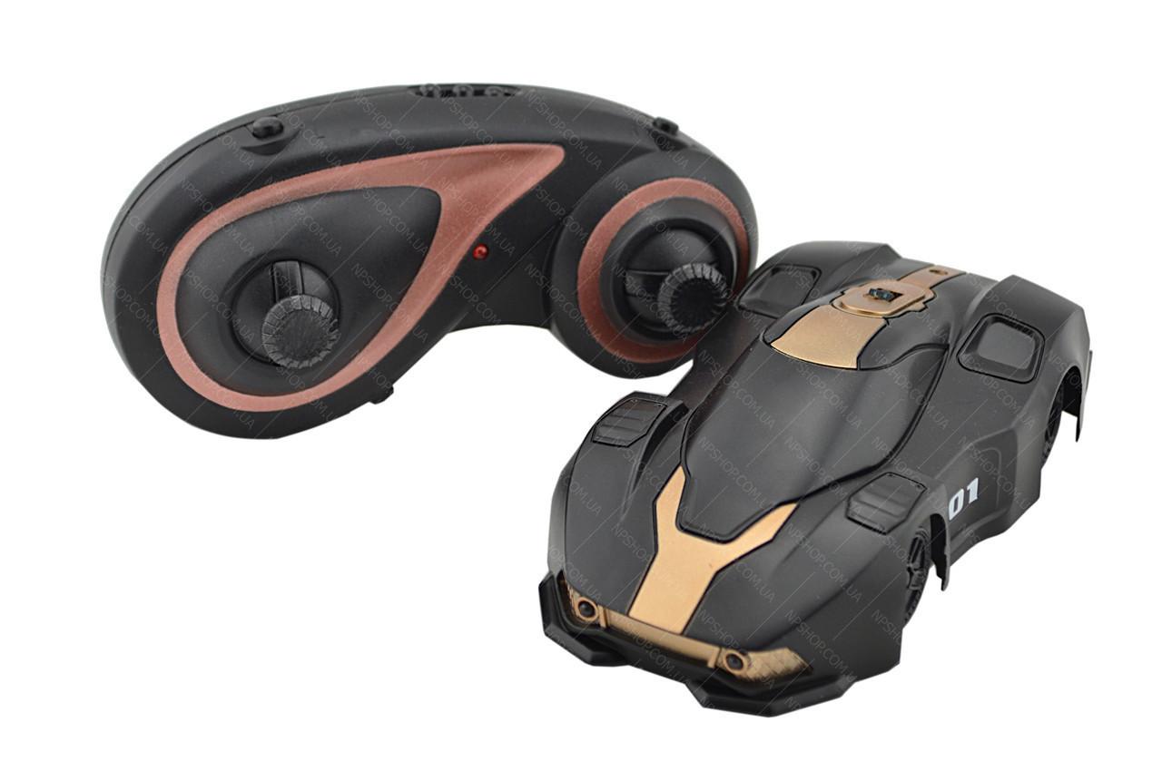 Радиоуправляемая игрушка CLIMBER WALL RACER MX-01 Антигравитационная машинка на р/у черная