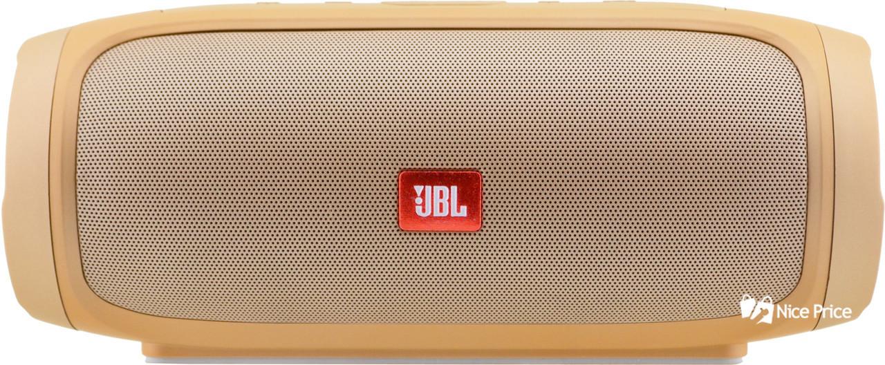 Портативная bluetooth колонка JBL Charge 4 Золотой (реплика)