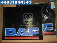⭐⭐⭐⭐⭐ Брызговик 500X600X4 с (цветной) надписью ДAФ (TEMPEST)  TP 95.47.33