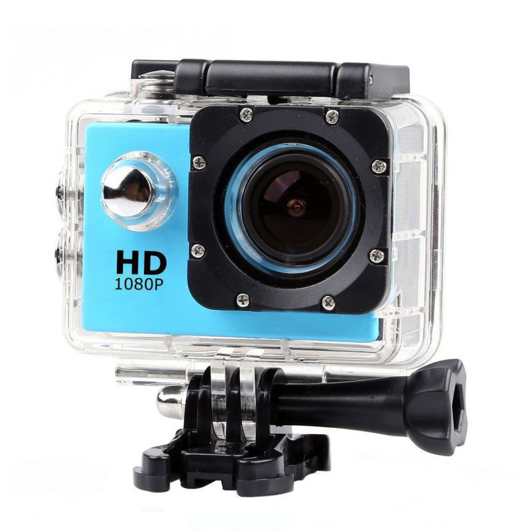 Водонепроницаемая спортивная экшн камера Delta HD 1080P X6000 Blue