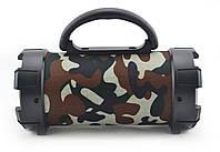 Портативная bluetooth MP3 колонка SPS F18 камуфляж, фото 1