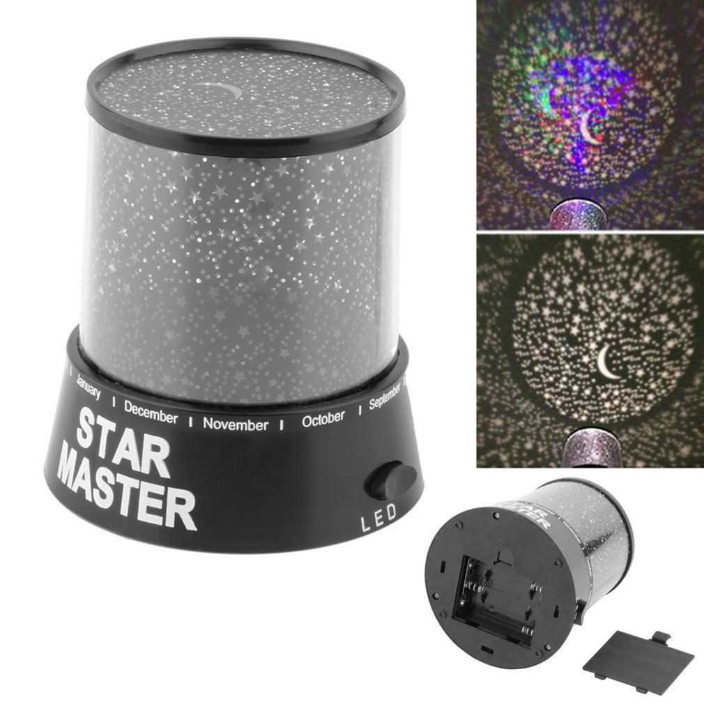 Проектор звездного неба Star Master Стар Мастер Black