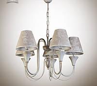 Люстра для зала, спальни, прихожей, 5-ти ламповая 14405