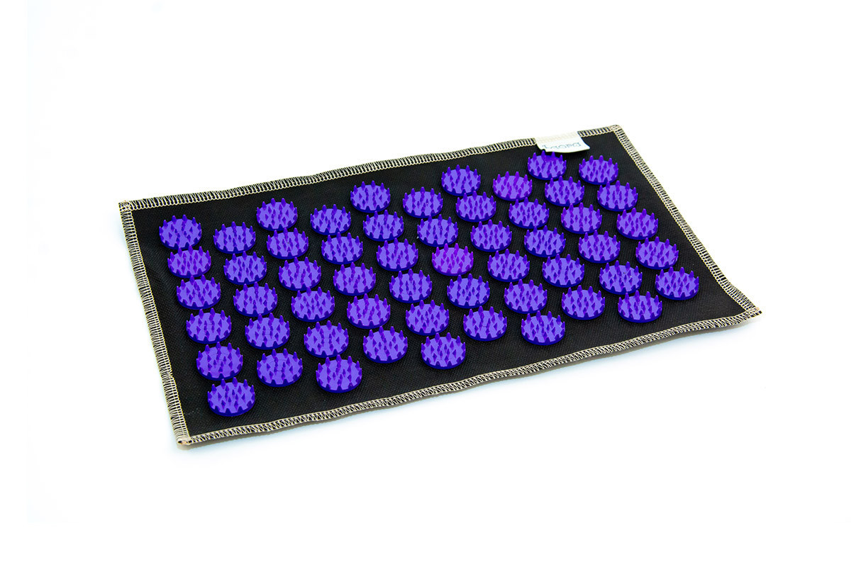 Коврик с аппликатором Кузнецова  AIR mini 32х21 см фиолетовые фишки